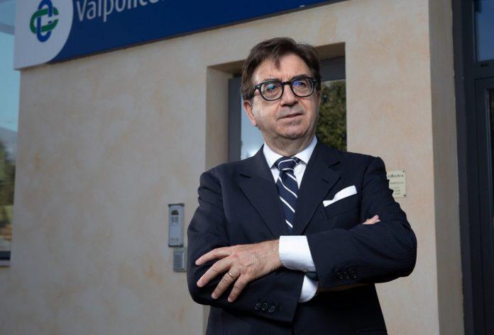 Franco Ferrarini presidente Valpolicella Benaco Banca
