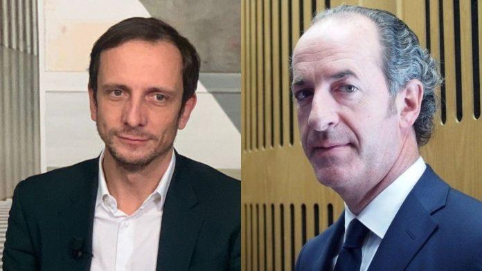 Massimiliano Fedriga e Luca Zaia attività economiche e sociali