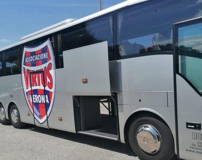 Triestina Virtus Verona bus
