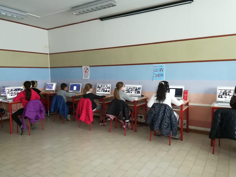 La classe 5B della Scuola Primaria Silvio Pellico di Lugagnano