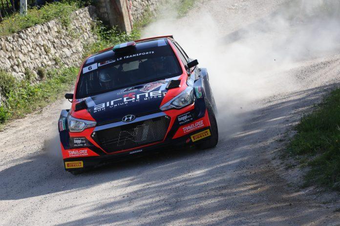 Hoelbling-Fiorini sulla Hyundai i20 NG, Vincitori del Rally della Valpolicella 2021