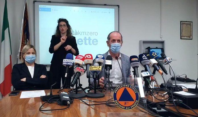 Luca Zaia vaccino covid ai 40enni