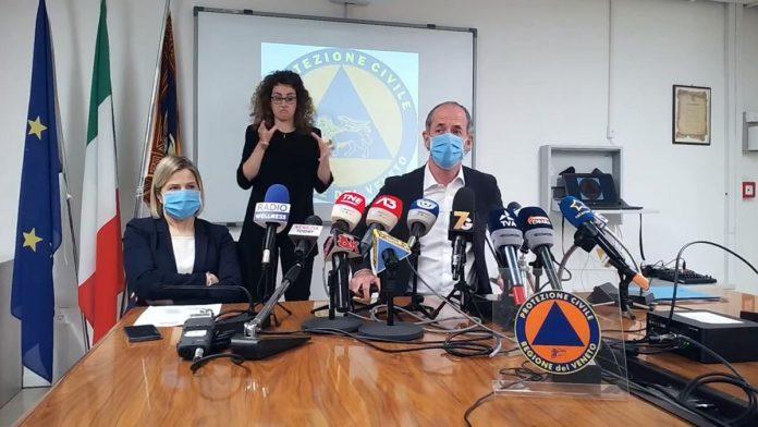Luca Zaia vaccinazioni 50enni