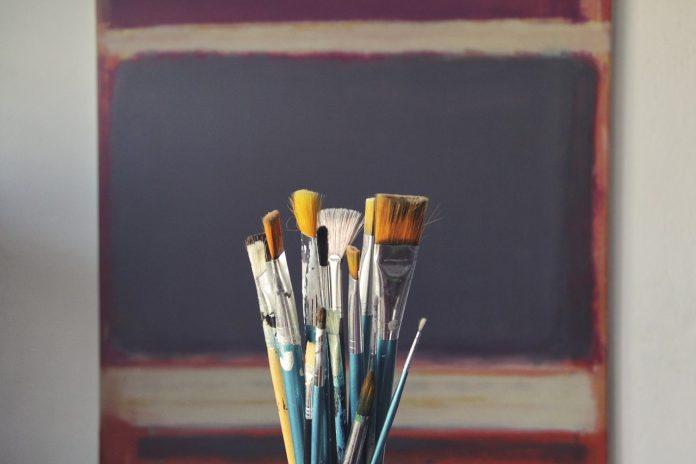 Pennelli colori arte creatività creativo dipingere