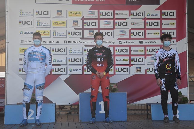 UCI BMX Supercross World Cup 2021-BMX Olympic Arena di Verona-Men U23
