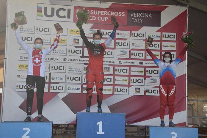 UCI BMX Supercross World Cup 2021-BMX Olympic Arena di Verona-Womens Elite