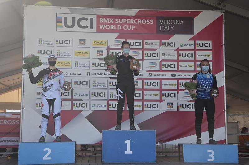 UCI BMX Supercross World Cup 2021-BMX Olympic Arena di Verona-Womens U23