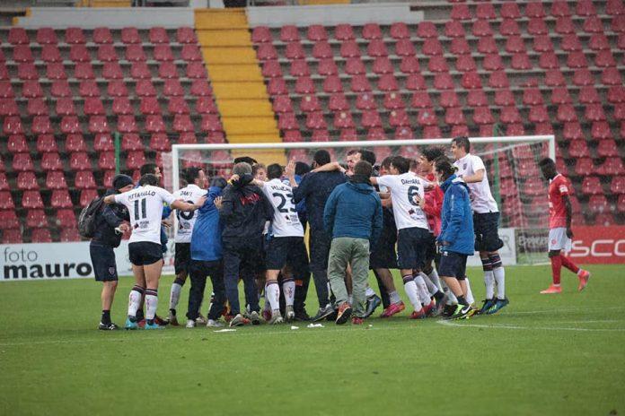 Virtus Verona Salò festeggia a Trieste il passaggio del turno