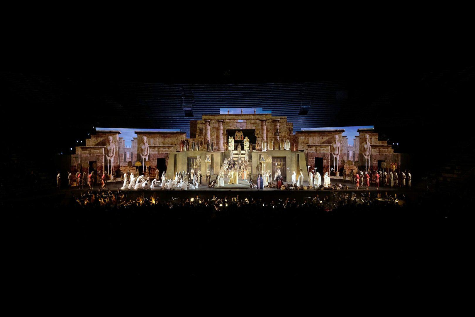 Aida, trionfo 2021