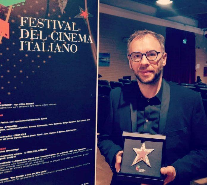 Alberto Rizzi premiato al Festival del cinema italiano 2021