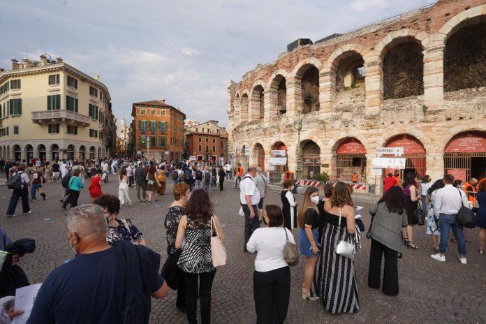 Arena di Verona - apertura stagione 2021 - Il Volo tributo a Ennio Morricone