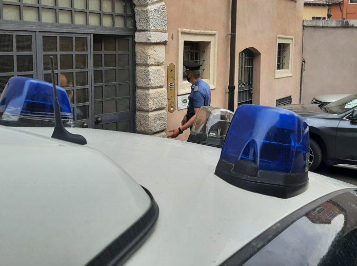Carabinieri evasione domiciliari