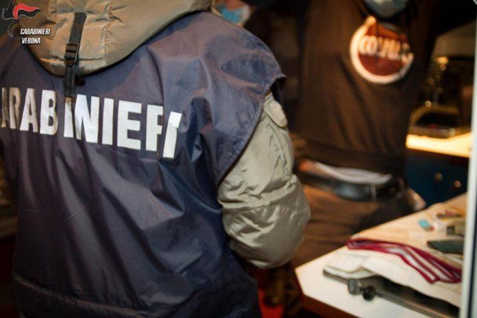 Carabinieri operazione nazionale partita da Legnago