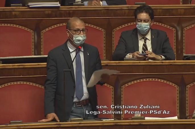 Cristiano Zuliani in Senato