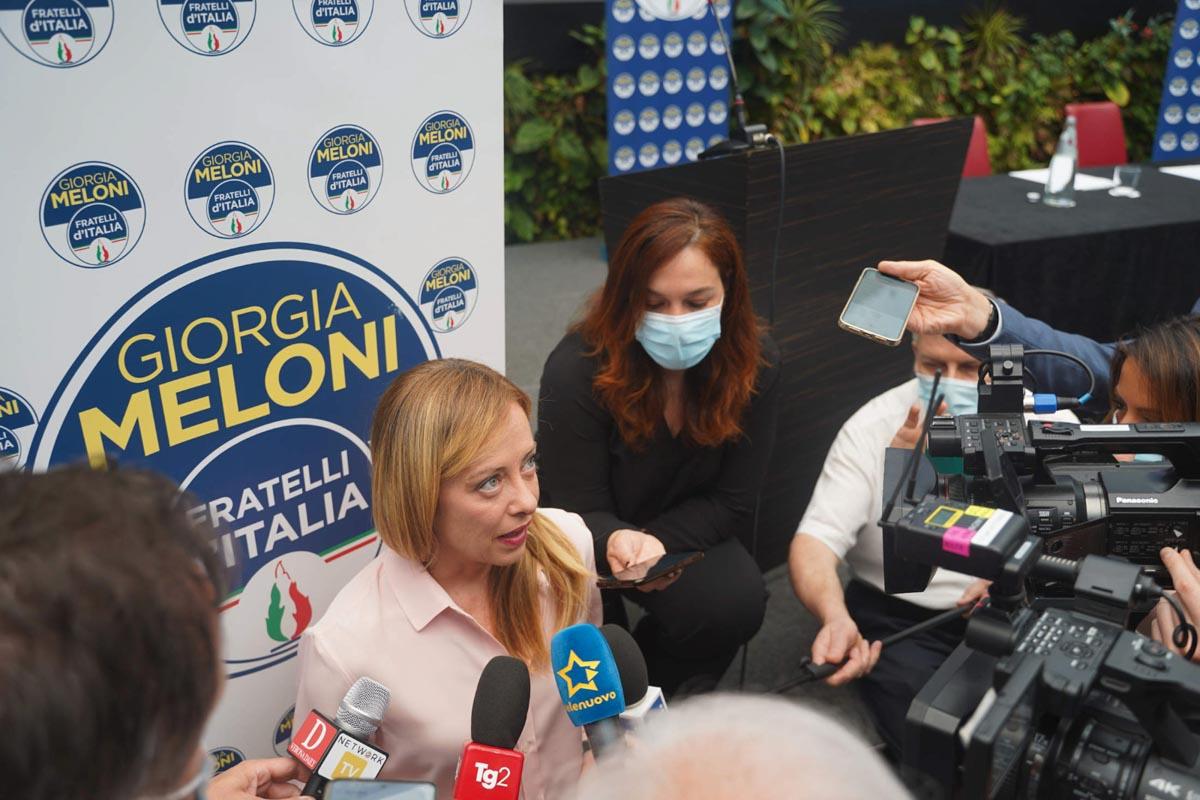 Giorgia Meloni a Verona