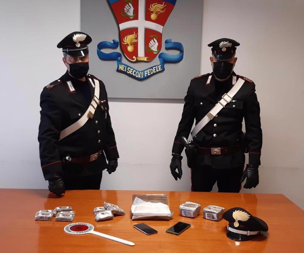 Lugagnano inseguimento Carabinieri