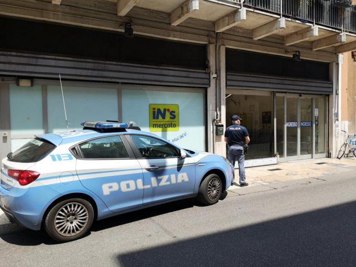 Polizia rapina aggravata veronetta bottiglia rubata aggressione