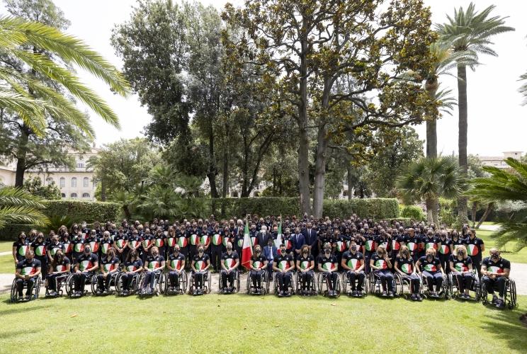 Foto presa dal sito ufficiale del Quirinale