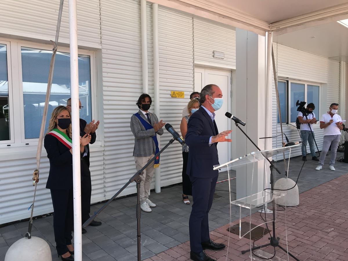 Inaugurazione della nuova sezione veronese dell'Istituto Zooprofilattico Sperimentale delle Venezie a Buttapietra