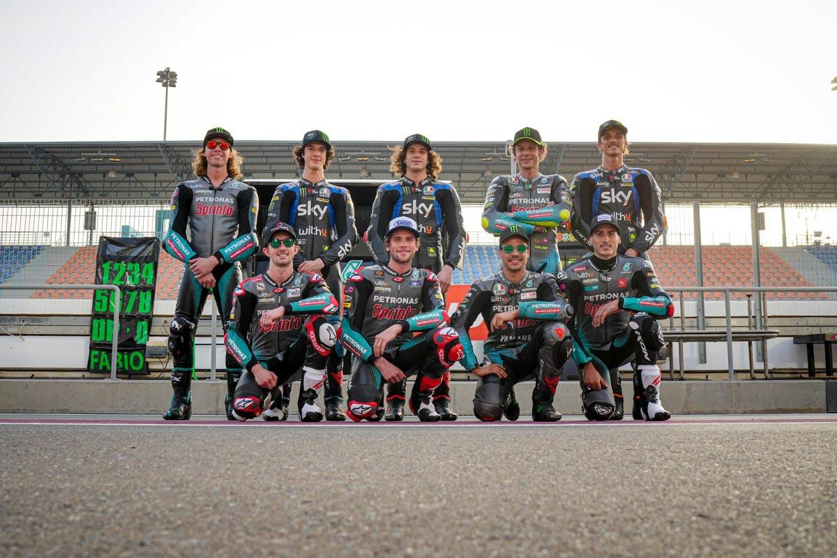 Piloti WithU MotoGP