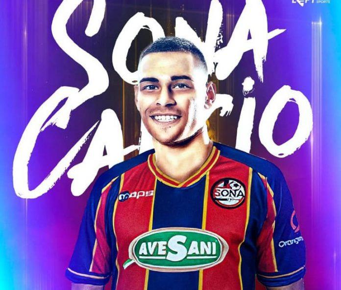 José Maria Sanchez al Sona Calcio