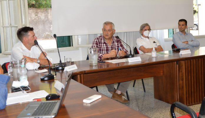 Thomas Pandian, Massimo Mariotti, Giuseppe Bonazzi e Roberto Mantovanelli