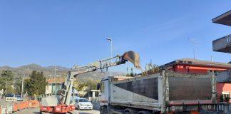 Via Calvarina, Roncà lavori rete fognaria 2021