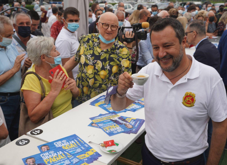 Matteo Salvini a San Giovanni Lupatoto