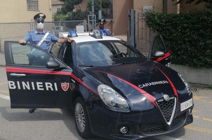 Militari dell'Arma della stazione Carabinieri di Minerbe