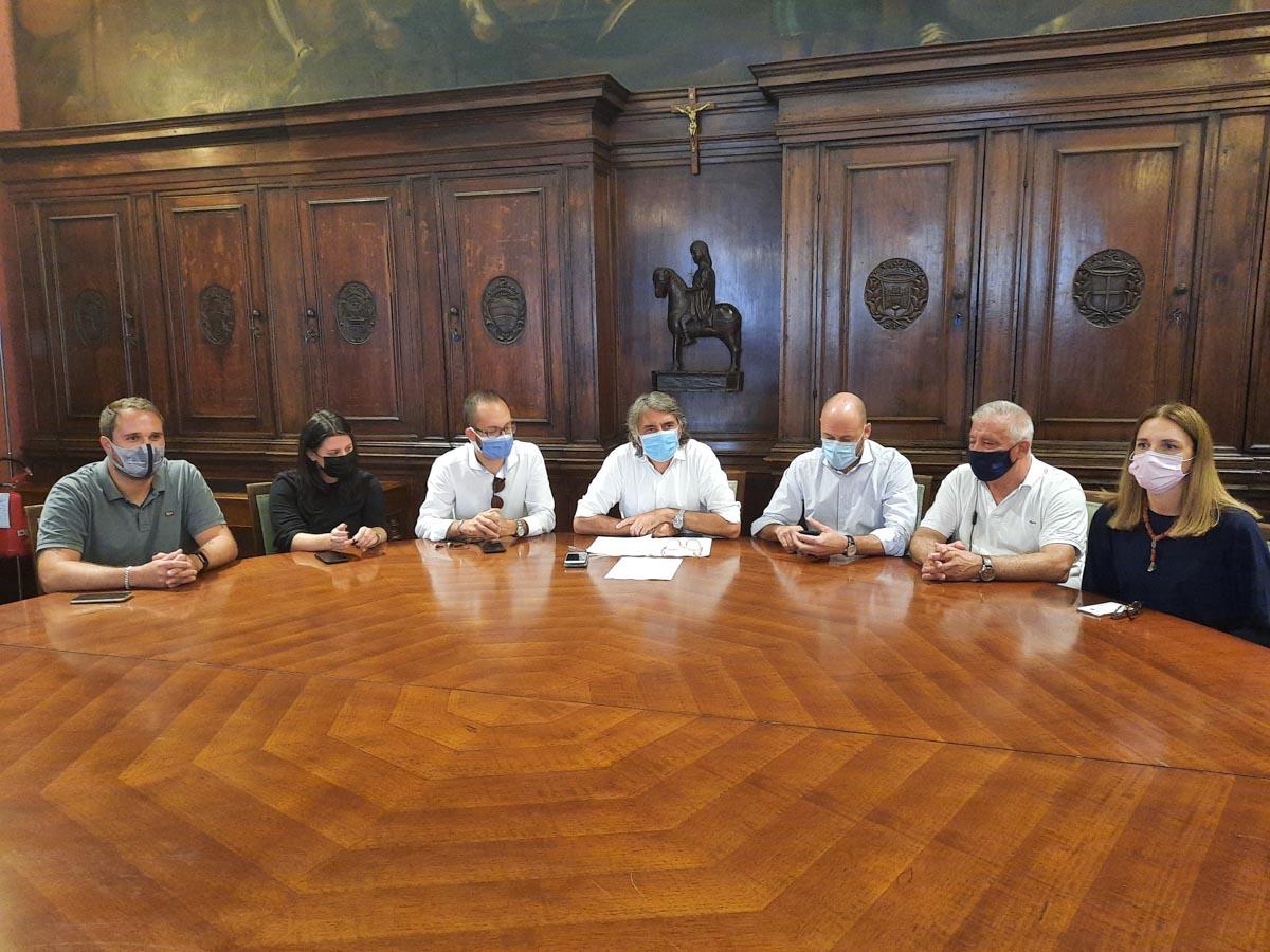 """I consiglieri di maggioranza oggi in conferenza stampa sul """"caso Bacciga"""""""