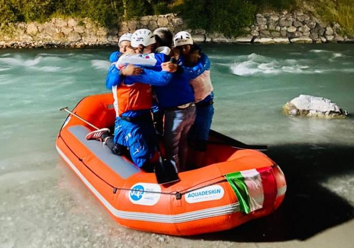 italia mondiali rafting vittoria rx