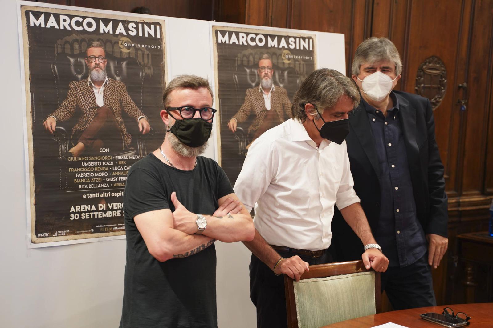 Masini, Sboarina e Mazzi a Palazzo Barbieri