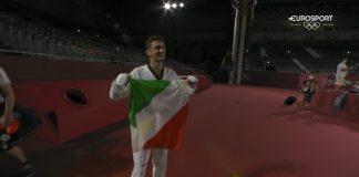 Vito Dell'Aquila, primo oro italiano a Tokyo 2020.