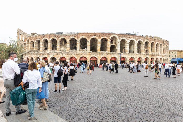 green pass Arena di Verona