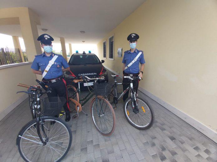 Carabinieri Lazise furti biciclette