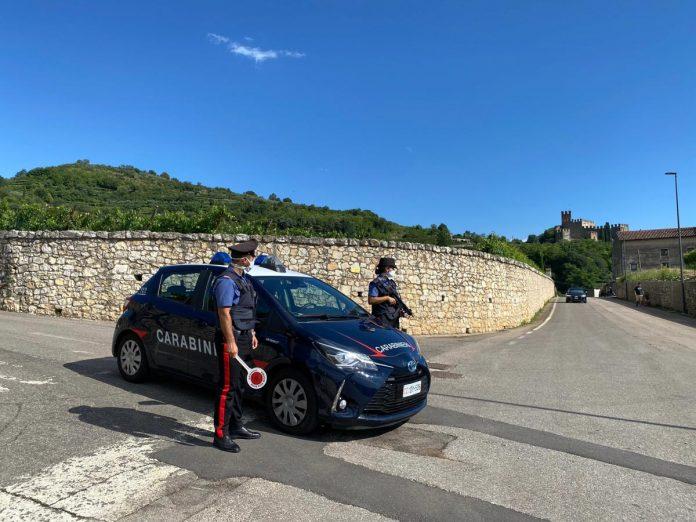 Carabinieri a San Bonifacio