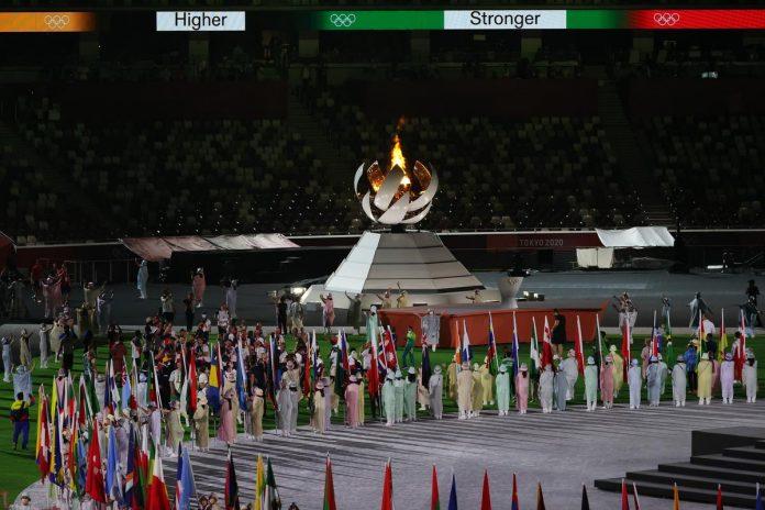 Chiusura olimpiadi Tokyo