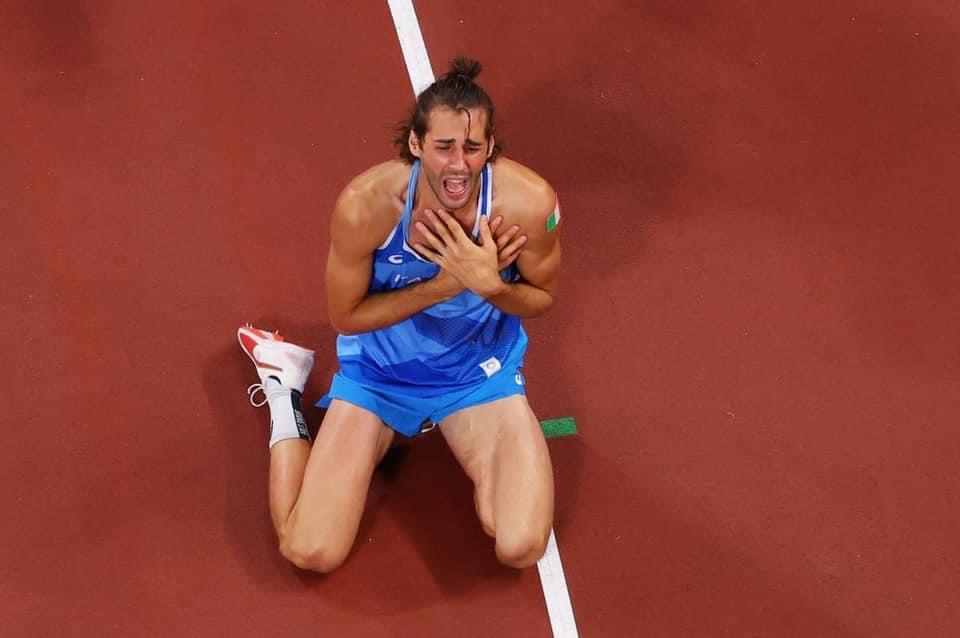 Gianmarco Tamberi oro alle Olimpiadi di Tokyo 2020