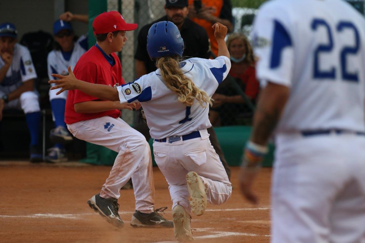 partita baseball nazionale under 12 san bonifacio