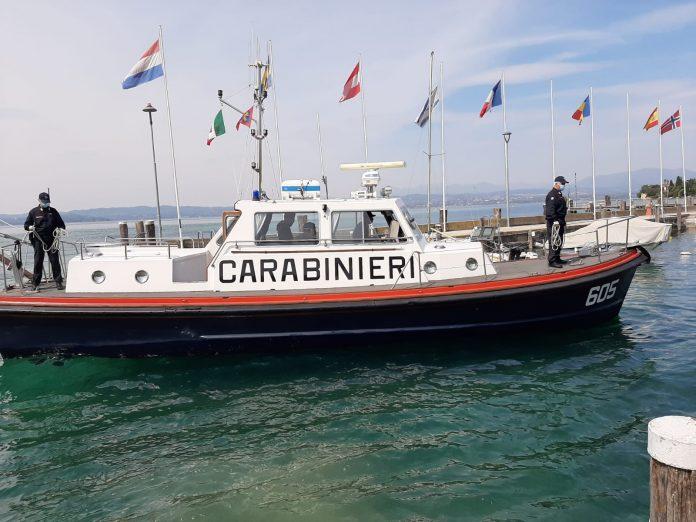 Vigilanza costiera Torri del Benaco carabinieri