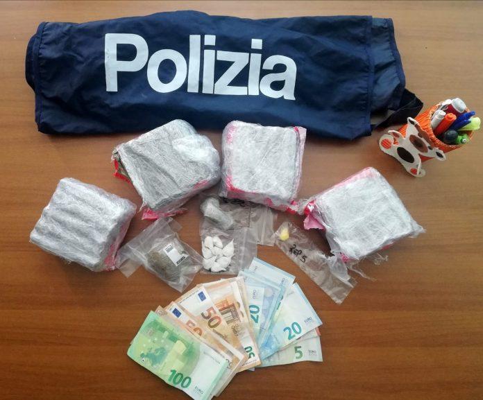 Arresto Droga via Foroni