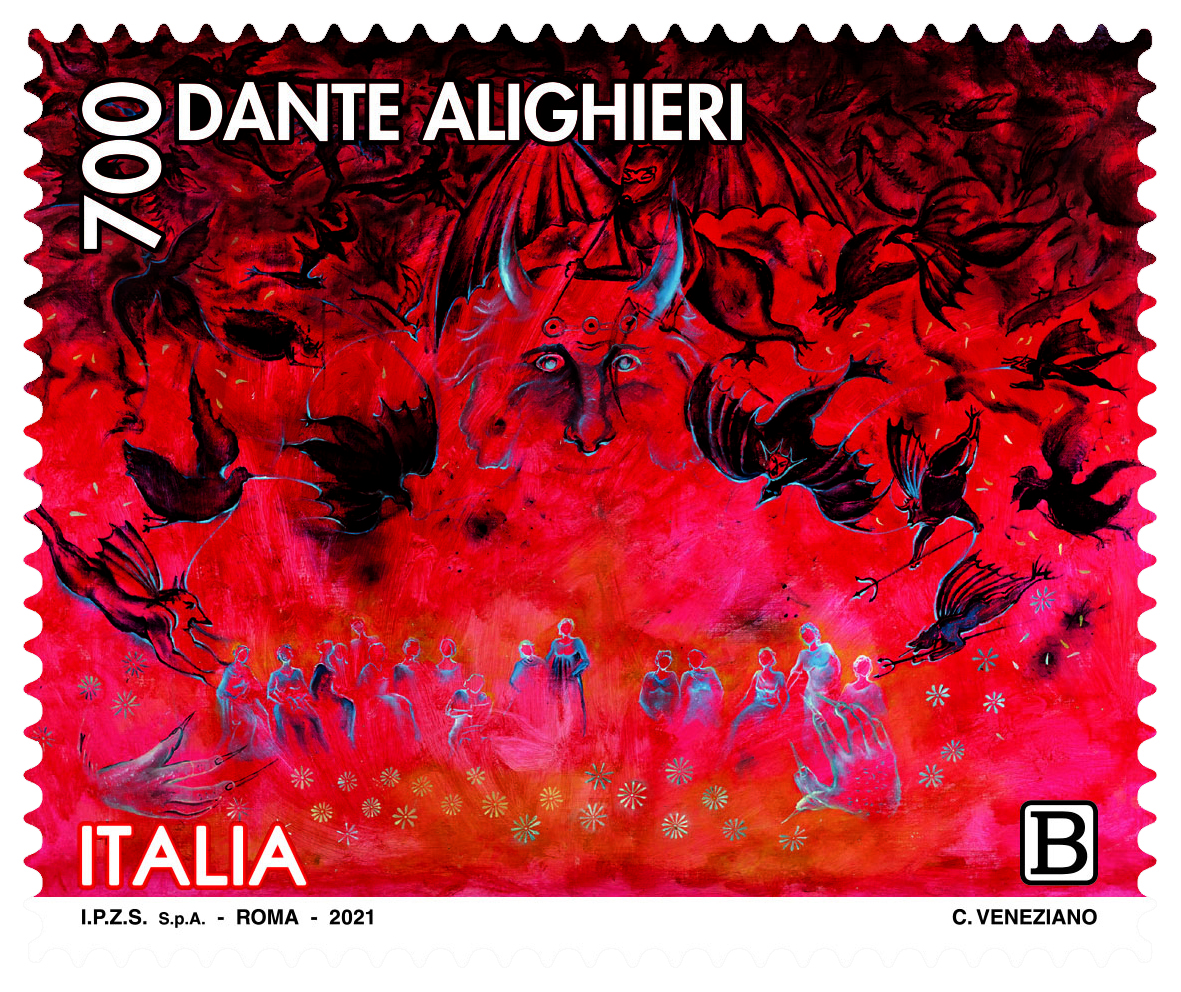 Francobolli Dante 700
