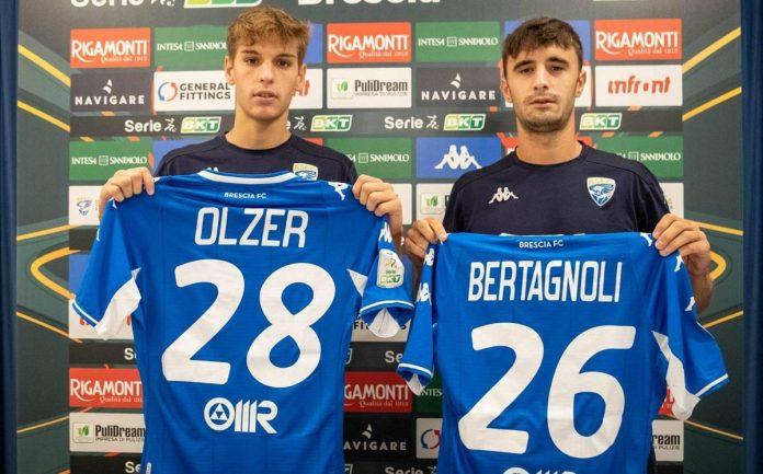 Giacomo Olzer e Massimo Bertagnoli si presentano al Brescia