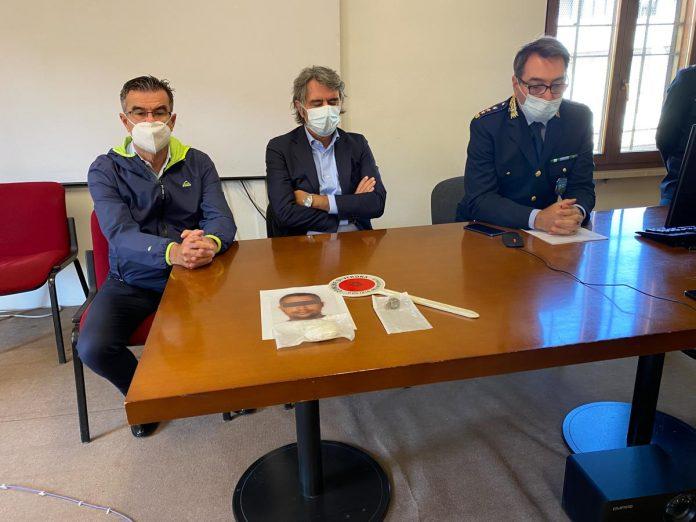 Conferenza arresto spaccio via Pisano Verona