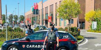 Carabinieri furto supermercato San Bonifacio