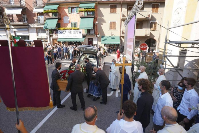 Funerale Chiara Ugolini