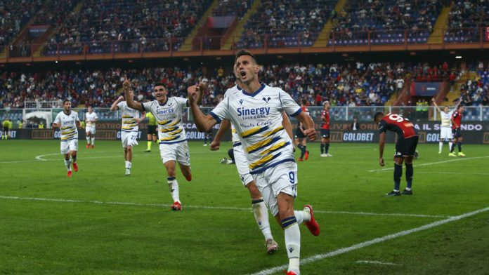 Genoa-Hellas Verona Nikola Kalinic