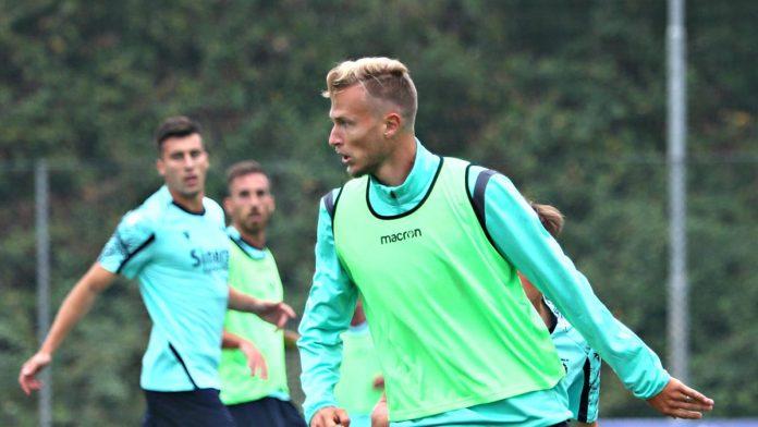 Allenamento in vista di Salernitana-Hellas Verona