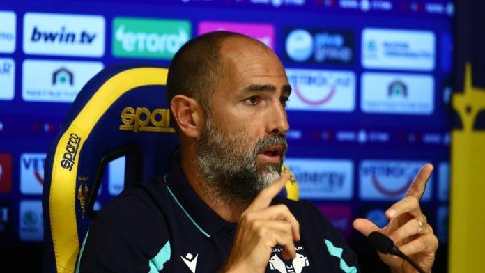 Igor Tudor prepartita Genoa-Hellas