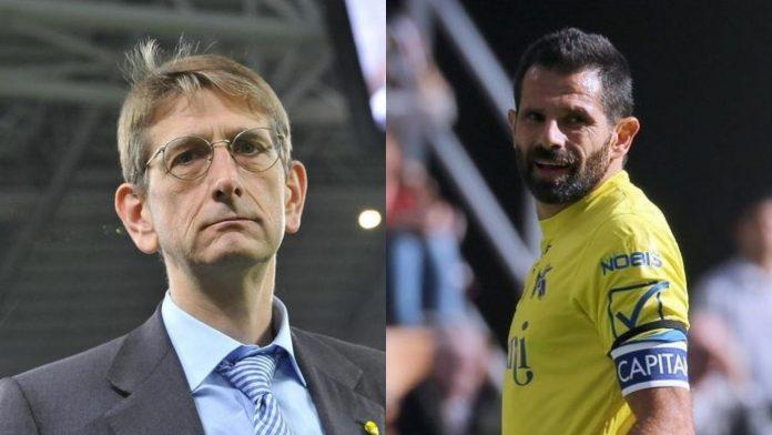 Luca Campedelli Sergio Pellissier Chievo Verona FC Clivense